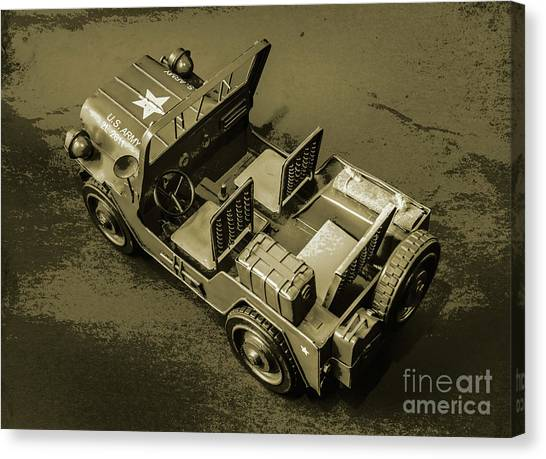 Style Canvas Print - Weathered Defender by Jorgo Photography - Wall Art Gallery