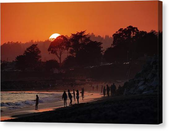 Canvas Print featuring the photograph We'll All Be Gone For The Summer by Quality HDR Photography