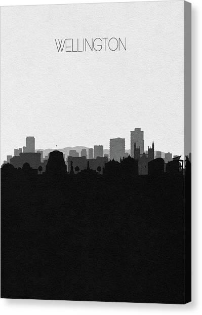 Kiwis Canvas Print - Wellington Cityscape Art by Inspirowl Design