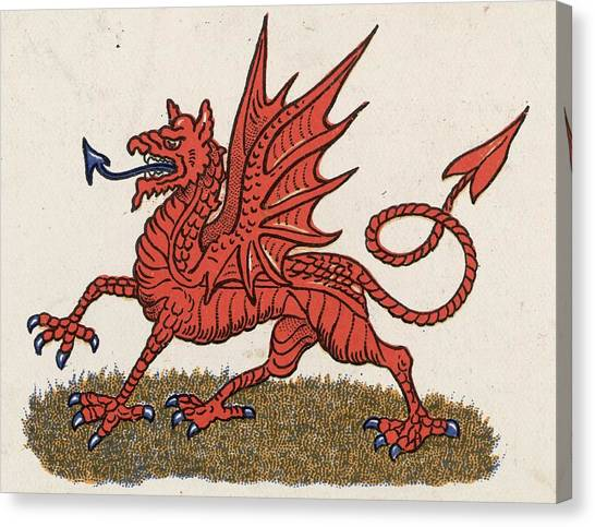 Welsh Dragon Canvas Print by Hulton Archive