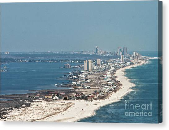 West Beach-1 Canvas Print