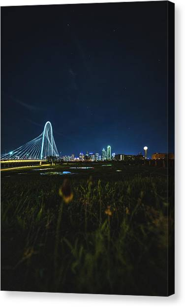 West Dallas Flower Canvas Print