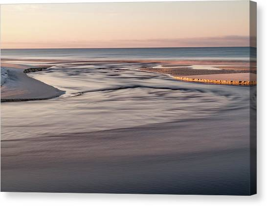 Western Lake Outfall #8 Canvas Print