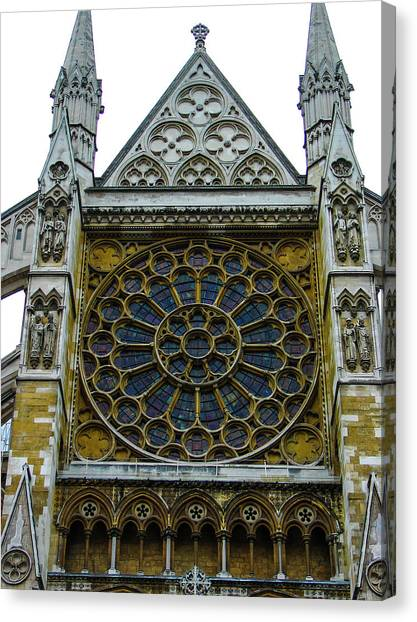 Westminster Abbey 2 Canvas Print