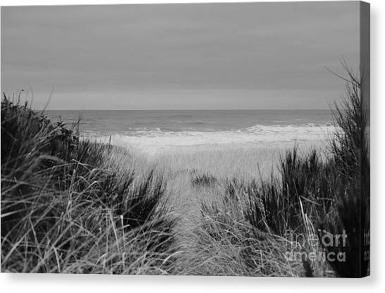 Canvas Print featuring the photograph Westport Red Filter by Jeni Gray