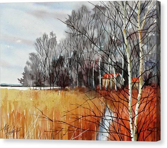 Wetlands Edge Canvas Print by Art Scholz