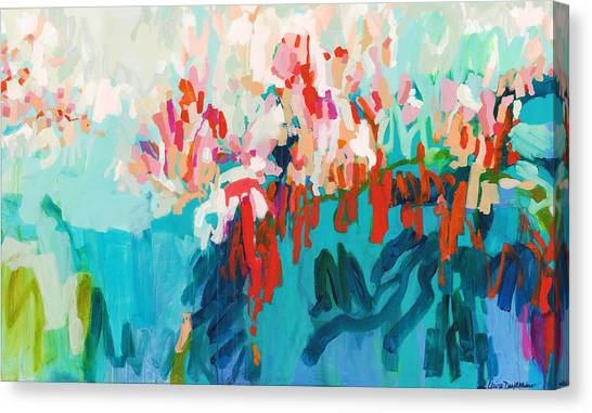 Canvas Print - What Are Those Birds Saying? by Claire Desjardins