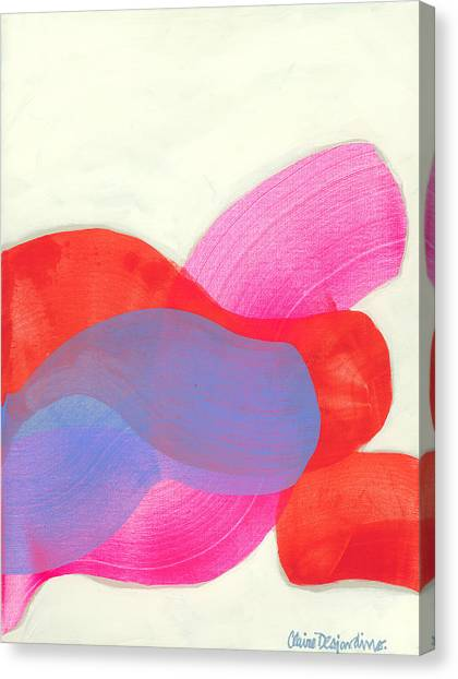 Canvas Print - What To Say? by Claire Desjardins