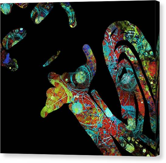 What's Left Behind Imprint Of The Spirit Canvas Print