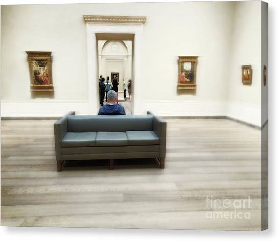 Art That Attracts  Canvas Print by Steven Digman