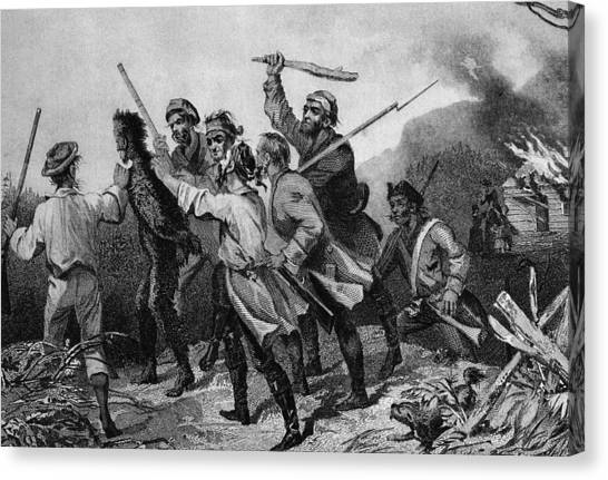 Whiskey Rebellion Canvas Print by Kean Collection