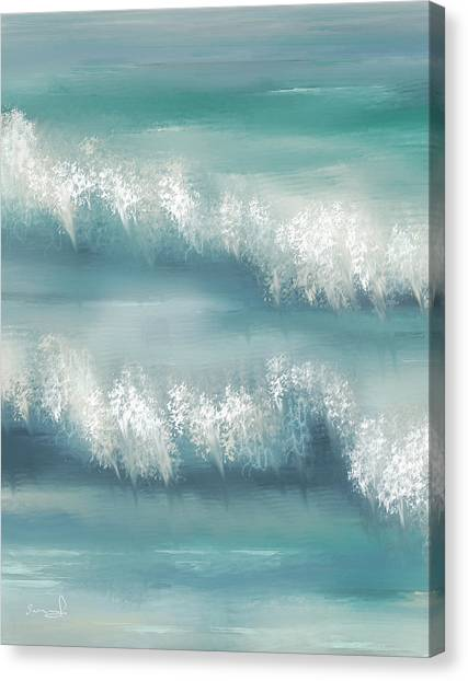Whispering Waves Canvas Print