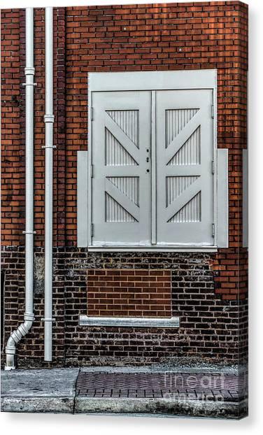 White Doors Canvas Print by Elijah Knight