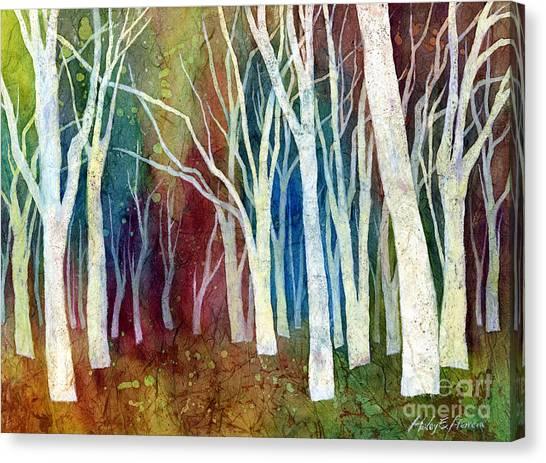 White Forest I Canvas Print