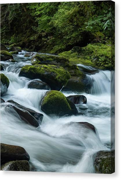 White Water Canvas Print