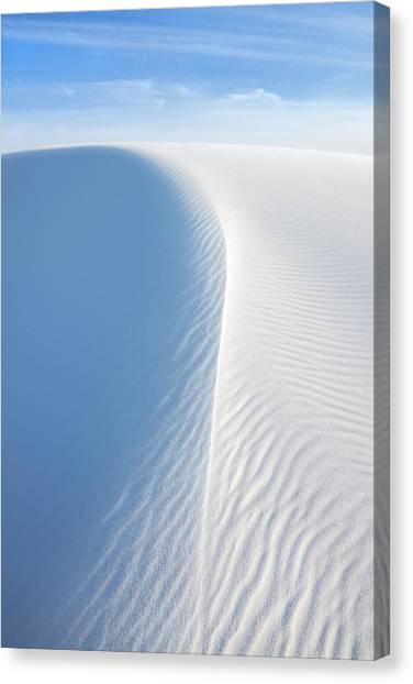 White Wave, White Sands National Monument Canvas Print