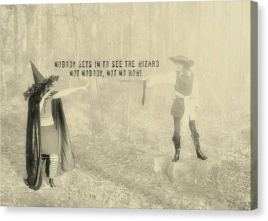 Wicked Quote Canvas Print by JAMART Photography