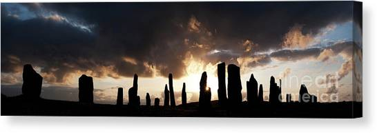 Rainclouds Canvas Print - Wild Callanish by Tim Gainey