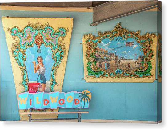 Canvas Print featuring the photograph Wildwood Days 2 by Kristia Adams