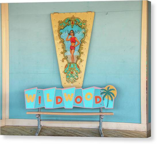Canvas Print featuring the photograph Wildwood Days by Kristia Adams