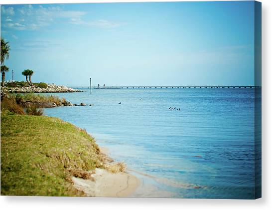 William Bantram Park Canvas Print by Sharondipity Photography