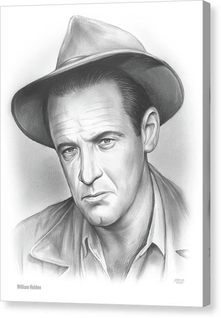 1950s Canvas Print - William Holden by Greg Joens