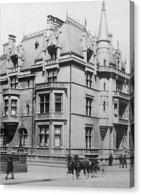 William K. Vanderbilt House Canvas Print by Archive Photos