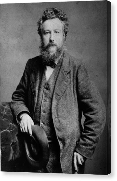 William Morris Canvas Print by London Stereoscopic Company