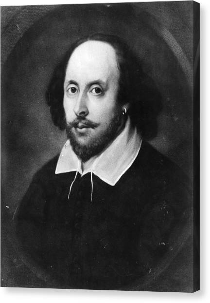 William Shakespeare Canvas Print by Hulton Archive