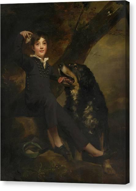 Notable Canvas Print - William Stuart Forbes, Elder Son Of Sir William Forbes Of Pitsligo by Henry Raeburn