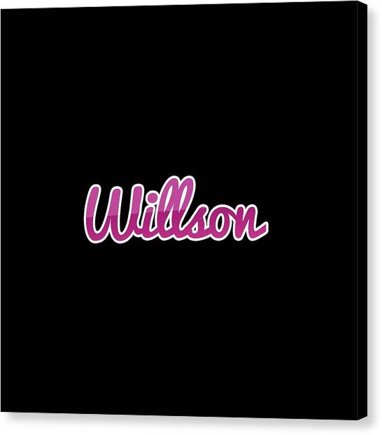 Canvas Print - Willson #willson by TintoDesigns