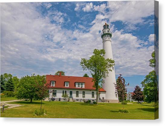 Wind Point Lighthouse  Canvas Print