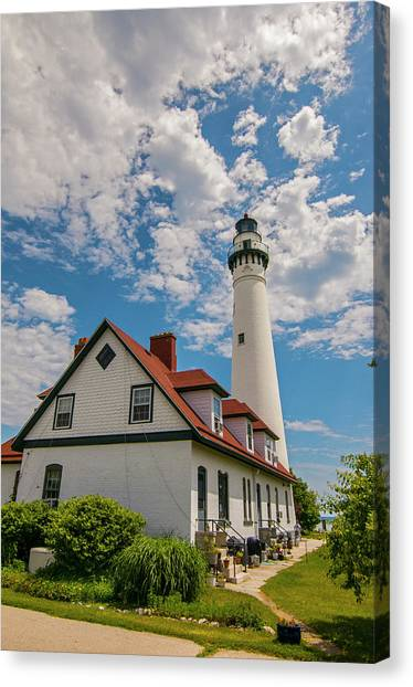 Wind Point Lighthouse No. 2 Canvas Print