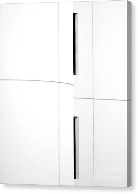 Window Abstract Canvas Print