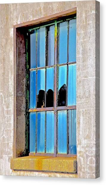 Window Canvas Print by Gillis Cone