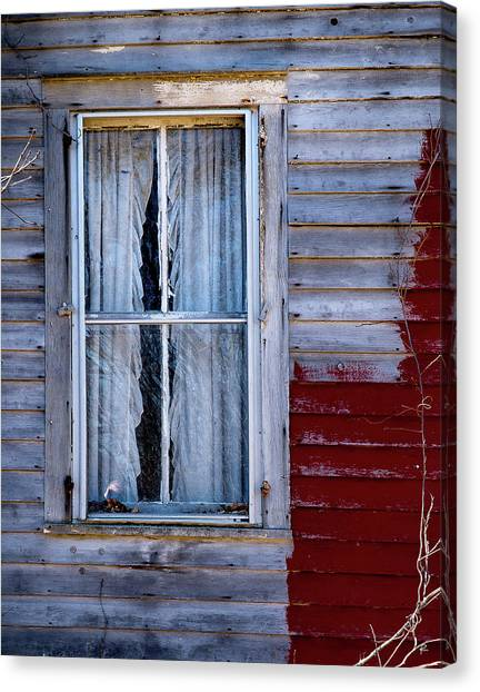 Window In Marlboro Canvas Print