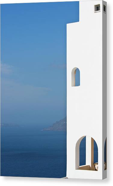Windows To The Blue Canvas Print