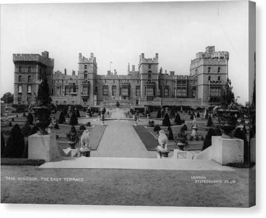 Windsor Castle Canvas Print by London Stereoscopic Company