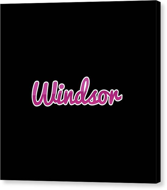 Canvas Print - Windsor #windsor by Tinto Designs