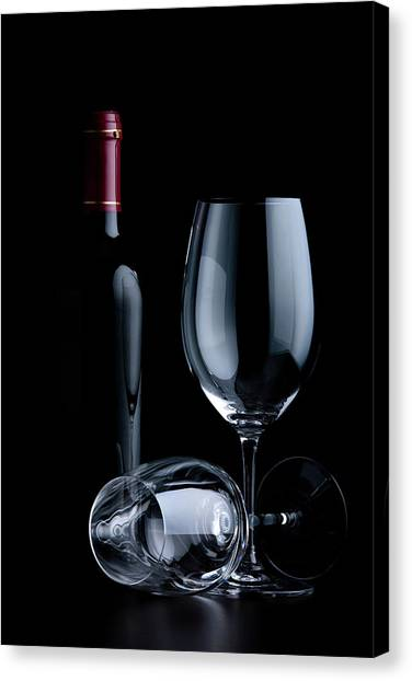Wine Glasses Canvas Print