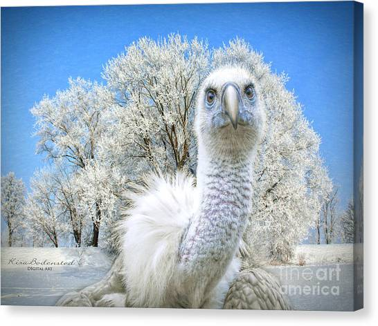 Winter Becomes Her Canvas Print