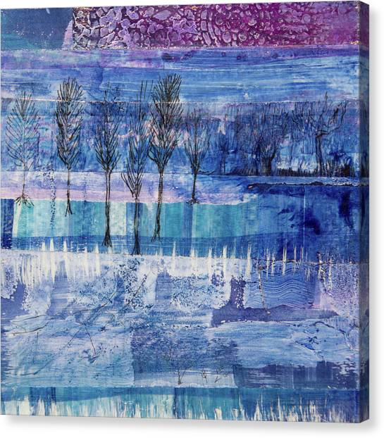 Winter Blues 1 Canvas Print