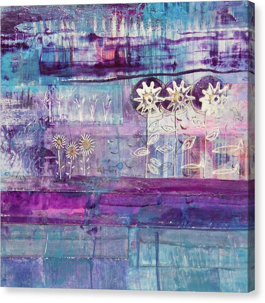 Winter Blues 2 Canvas Print