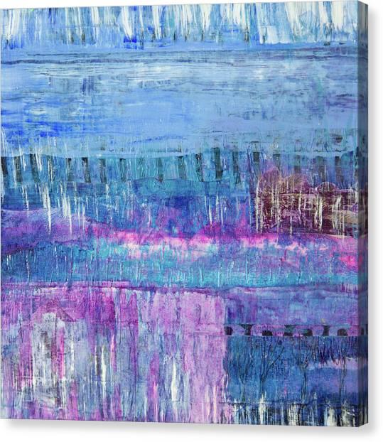 Winter Blues 3 Canvas Print
