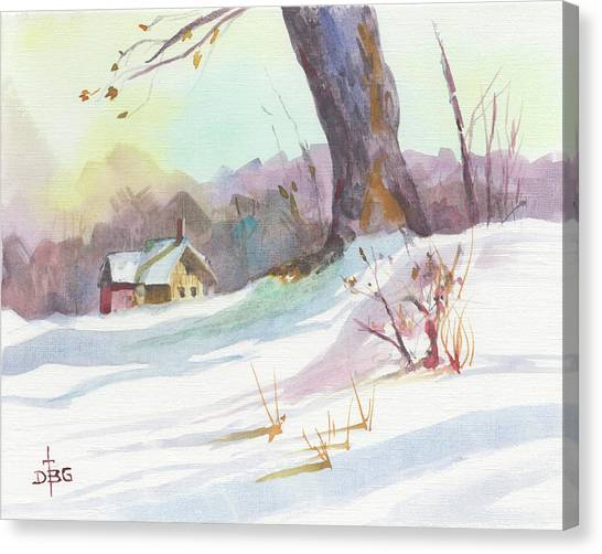 Winter Break Canvas Print