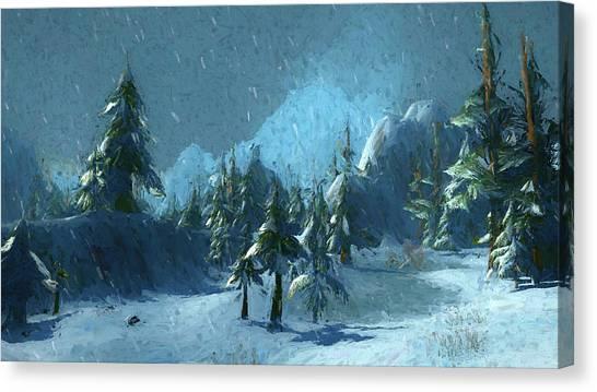 Winterspring Canvas Print