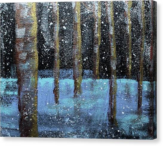 Wintry Scene I Canvas Print