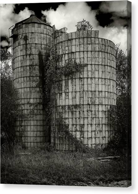 Wisconsin Silo Canvas Print