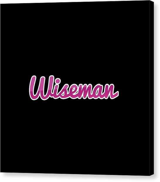 Canvas Print - Wiseman #wiseman by TintoDesigns