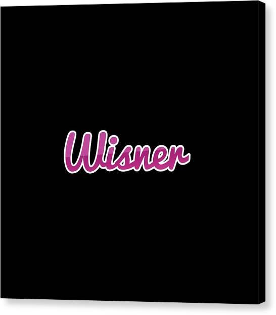 Canvas Print - Wisner #wisner by TintoDesigns